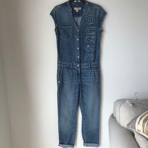 Guess Jeans Denim Jumpsuit